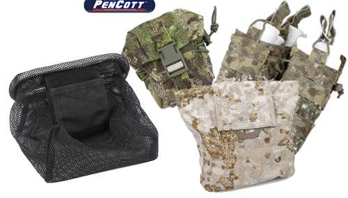 Black & Other Camo Pouches