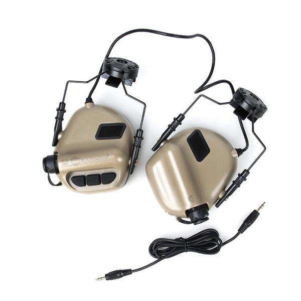 G OPSMEN M31H Hearing Protection Earmuff For OPS Helmet ( TAN )