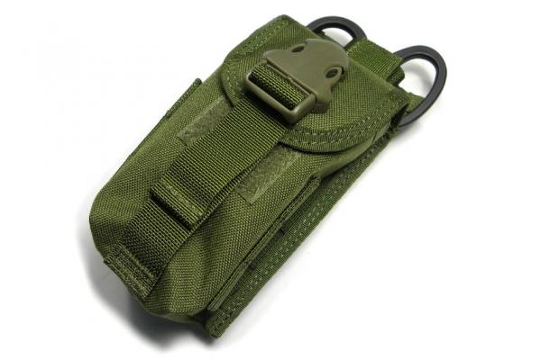 G TMC Double mag pouch w Medical scissors holder ( OD )