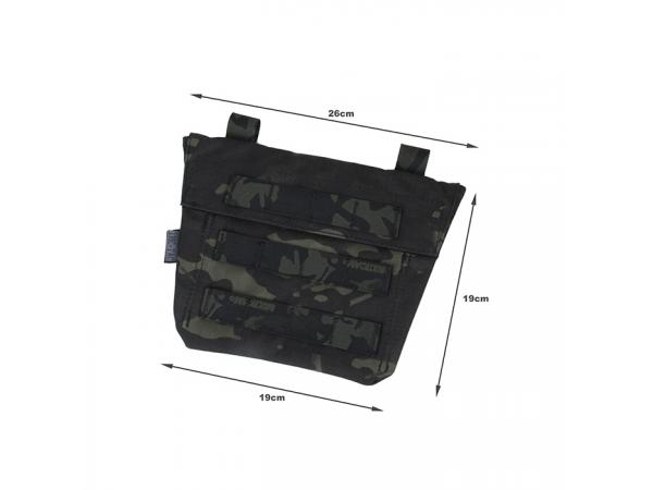 G TMC Cosplay ABDOMEN Panel ( Multicam Black )