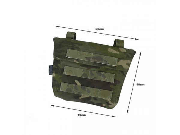 G TMC Cosplay ABDOMEN Panel ( Multicam Tropic )