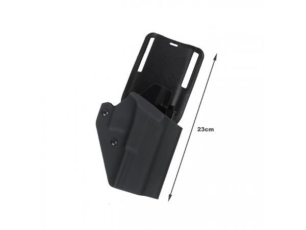 G TMC 20Ver Kydex Holster Set for GBB Glock ( BK )