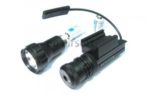 T Green Laser / Pistol Tactical Flashlight