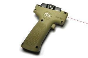 T CGL Tactical Grip Laser w LED & Laser sight ( tan )