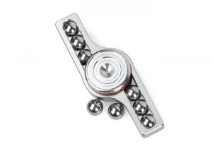 G EDC Gear S 304 Stainless Steel Hand Spinner ( Silver )