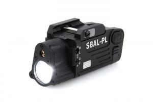 T HM SBAL-PL Dual Beam Aiming Laser Pistol Light ( BK )