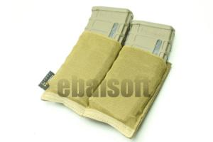 G James SPEED Double M4 Mag Pouch ( CB )