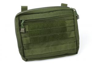 G TMC MOLLE Flat Square Utility Pouch ( OD )