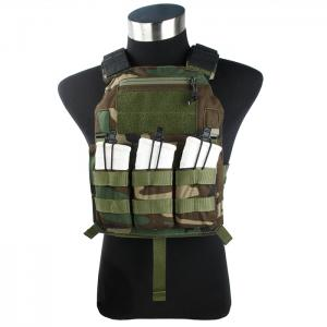 G TMC 420 Plate Carrier ( Woodland )