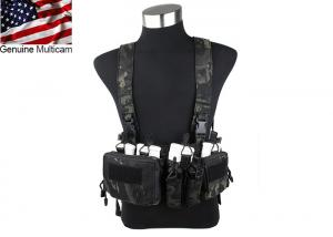 G TMC 762 Chest Rig ( Multicam Black )