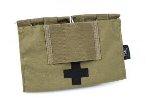 G TMC 9022B Medical Blowout Kit Pouches ( Khaki )