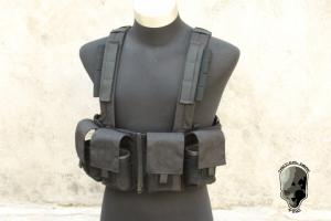 G TMC 961K Load Bearing Chest Rig ( Black )