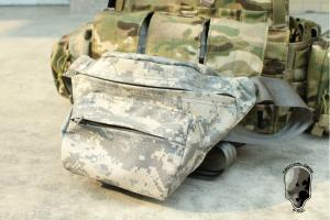 G TMC Cordura low pitched waist pack ( ACU )