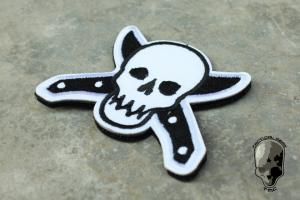 G TMC knife and Skull Patch ( BK )