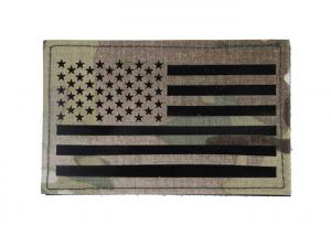 G TMC Large US Flag Infrared Patch ( Multicam )