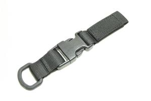 G TMC MOLLE Shackle Long ( Black )