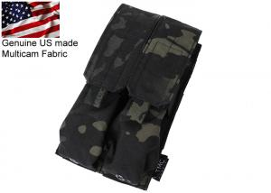 G TMC MP7A1 Double Magazine Pouch ( Multicam Black )