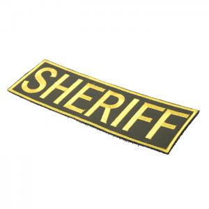 G TMC Patch -SHERIFF Golden Frame