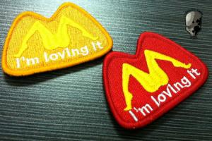 G TMC I \'m loving it Patch
