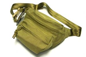 G TMC Cordura low pitched waist pack (Khaki)