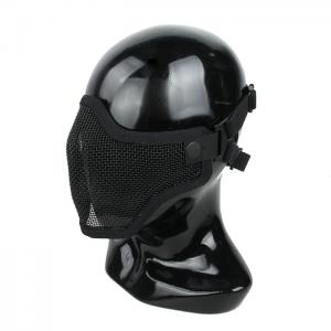 G TMC V1 Strike Steel Half Face Mask 2018 ( Black )
