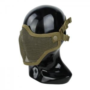 G TMC V1 Strike Steel Half Face Mask 2018 ( Khaki )