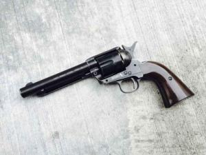 T Umarex Colt SAA .45 Peacemaker 4.5 mm BB Co2 Pistol ( BK )