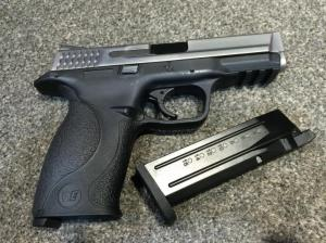 T WE M&P GBB Pistol (Silver)
