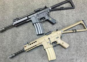 T WE Airsoft K style PDW 10 inch AEG ( BK / DE )