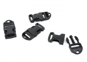 G X-CON Ladder Buckle 3/4 Lanyard Hole ( 4pcs / BK )