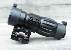 T AIM 4X FXD magnifer with adjustable QD mount
