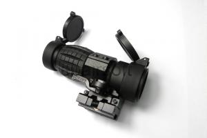 T 4X Magnifier Scope w/ push button FTS mount