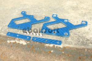 T Element EX268BU Cmore Mount Carbon Plate ( Blue )