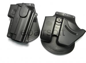 G Rubber coated FOB RH P226 Holster Set