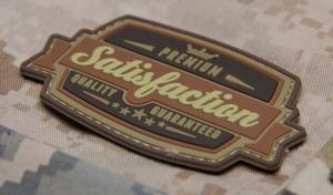 T MSM SATISFACTION PVC Patch