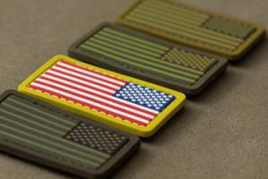 T MSM USA Flag mini PVC Patch