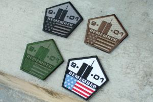 G Weekend Warrior 911 Remember Patch