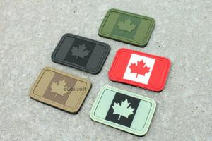 G Weekend Warrior Flag PVC Patch ( Canada )