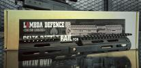 T Lambda Defence DELTA BATTLE Rail ( BK )