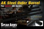 T Spear Arms ( Taiwan ) AK Steel Outer Barrel