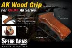 T Spear Arms ( Taiwan ) GHK AK wood grip